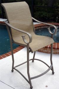 Aluminum Bars And Bar Chairs