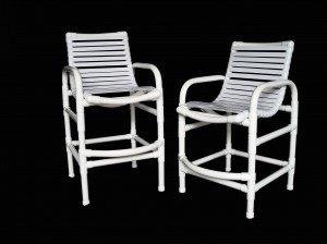 pvc strap balcony chair