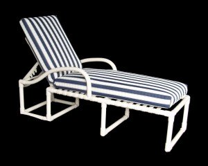 Patio lounge furniture for Adjustment bracket for chaise lounge